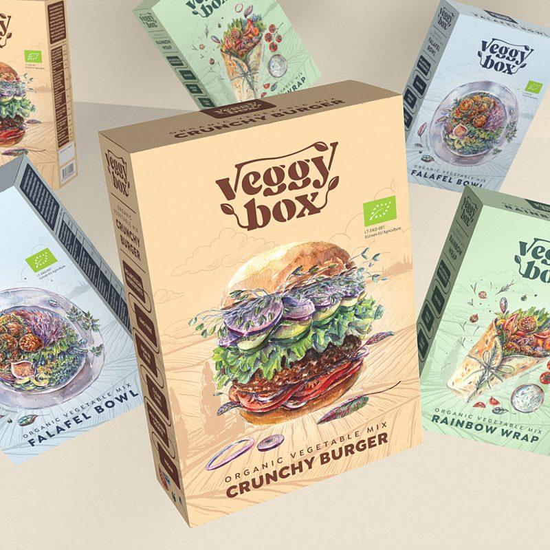 Veggy Box – Vegan & Organic Vegetable Mix